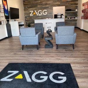 inside of zagg store