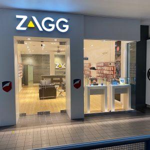 zagg store inside of mall